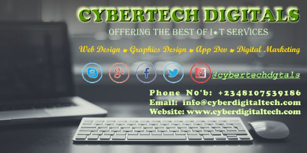 Cybertech Digitals Website Design
